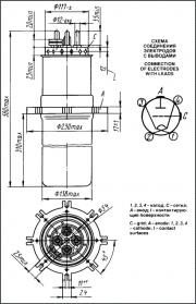 Схема генераторной лампы ГУ23А
