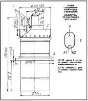 Схема лампы ГУ66А